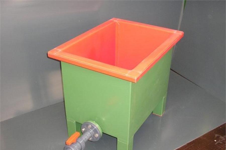 Вана изолирана с PVC